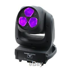 Equinox Vortex RGBW LED DMX DJ Disco Stage Moving Head Lighting Effect