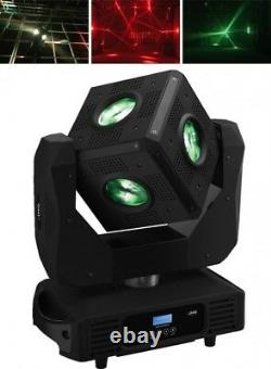 IMG STAGE LINE CUBE-630/RGBW Moving Head Effect Unit