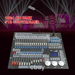 Moving Head Light 1024CH Controller DMX 512 Console Stage DJ Lighting Laser