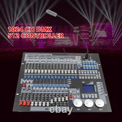 New 1024 Channels Console DMX 512 DJ System Controller Stage Moving Head Light