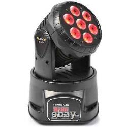 New Wash Led Moving Head Light Professional Disco Stage Lighting Dj Pa Rgb Party