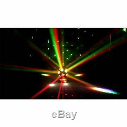 RG Laser 12 LEDs 120W RGBW Moving Double Heads Stage Lighting DMX DJ Disco Party