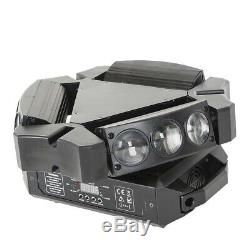 RGB 9LED Spider Moving Head Stage Light Sound DMX DJ or 192 Channels Controlle