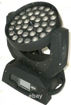 Stage Right Stage Wash 10 Watt x 36 LED Moving Head (RGBW) with Zoom (P/N 612812)