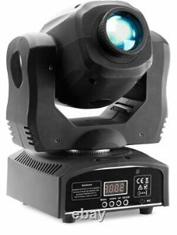 Stagg 60-watt COB LED Gobo Moving Head Stage Light with 7 Colors SLI MHBTAGG60-1