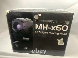 Stairville MH-x60 LED Spot Moving Head Stage Lighting Equipment