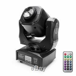 U`King 60W Moving Head Stage Light Prism Effect DMX Party Theater Concert+Remote