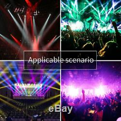 U`king90W LED Beam Stage Light Rotate Gobo Pattern Moving Head DMX DJ Show Party