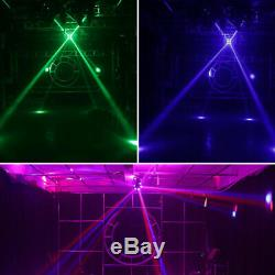 UK 150W RGBW 4 in 1 LED DMX Moving Head Stage Lighting Wash DJ Disco Party Light